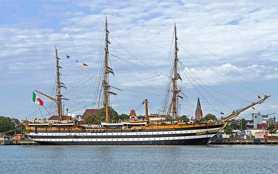 Amerigo Vespucci, Sail Training Ship, Italy