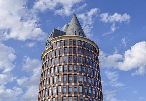 Architecture, Building, City, Skyscraper, Modern
