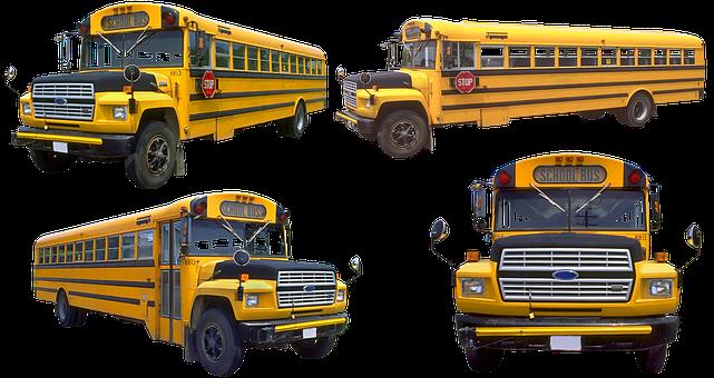 School Bus, Bus, School, Auto, Model, Oldtimer, Hobby