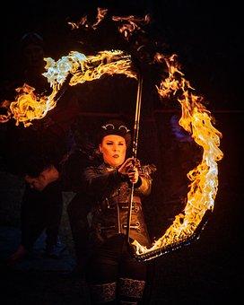 Fire, Fire Art, Smoke, Creative, Fireworks, Sparks