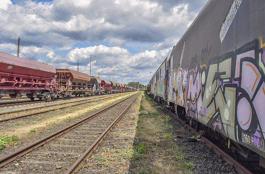 Gleise, Railway, Rails, Transport, Railroad Tracks