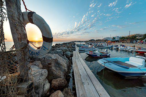 Seascape, Landscape, Sea, Travel, Photography, Gold