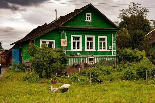 House, House In The Village, Village