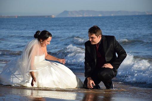 Boyfriend, Wedding, Dress, Costume, Marriage, People