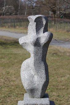 Statue, Light, Pose, Stone, Sculpture