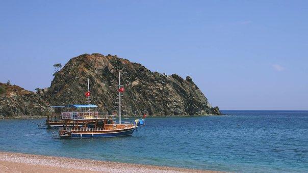 Boat, Clean, Sea, Summer, Sun