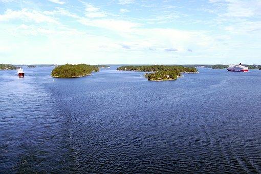 Stockholm, Sweden, Water, Scandinavia, Archipelago