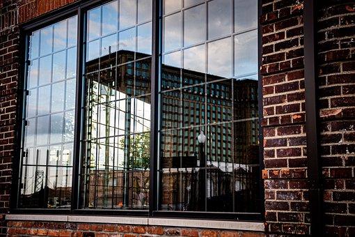 Detroit, Window, Windows, Building, Architecture