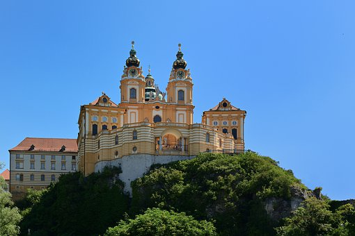 Pin Melk, Wachau, World Heritage, Austria, Architecture