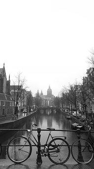 Netherlands, Amsterdam, Bike, Holland, City, Tourism