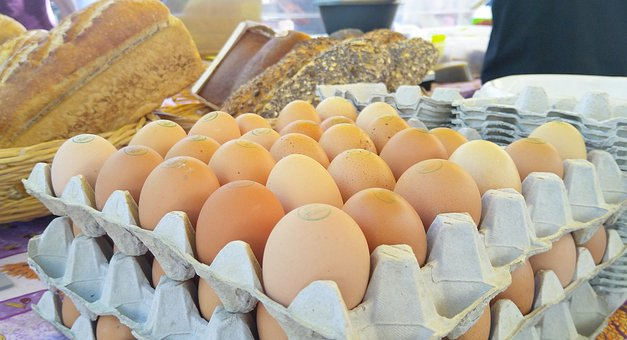 Eggs, Fresh, Buy, Market, Food, Breakfast, Meal
