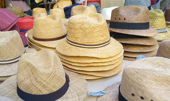 Hat, Sell, Market, Sale, Cap, French, Clothing, Fashion