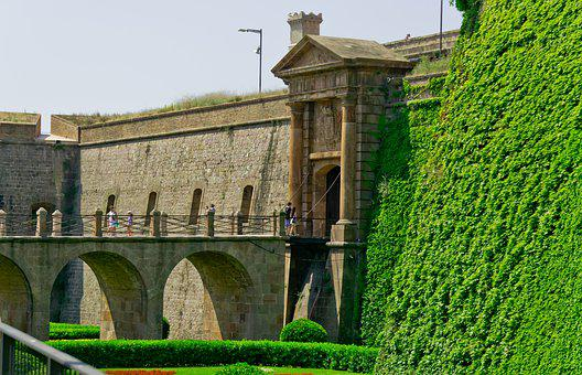 Castle, In, Barcelona, Interdependence, Architecture
