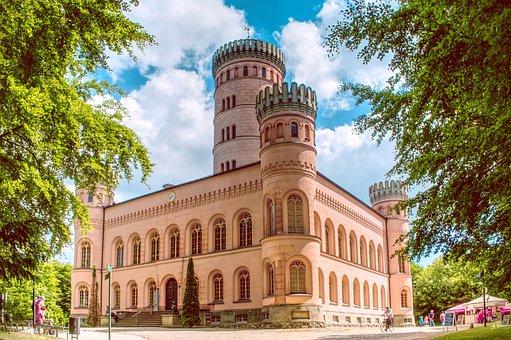 Castle, Architecture, Mystical, Jadgdschloss, Granitz