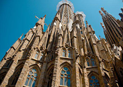 La Familia Segrada, Barcelona, Church, Spain