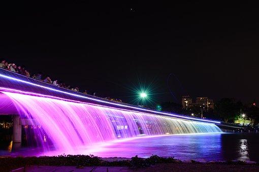 Landscape, City, Bridge, Architecture, Travel, Water