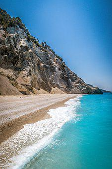 Greece, Islands, Sea, Nature, Egremni, Lefkada, Tourism