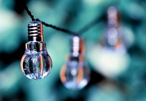 Light Bulb, Colorful, Lamps, Light, Energy, Nature