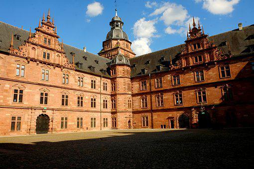 Castle, Hof, Architecture, Wall, Building, Historically