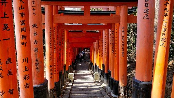 Torii, Gate, Japan, Sanctuary, Shinto, Religion