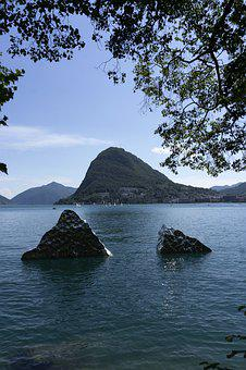 Lugano, Switzerland, Set, Was, Lake, Trip, Holiday