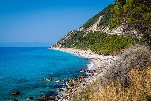 Greece, Islands, Sea, Nature, Nidri, Lefkada, Tourism