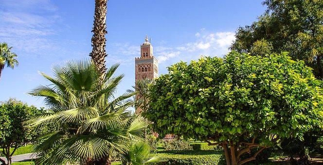 Marrakech, Morocco, Arabic, Mosque, Building, Pray