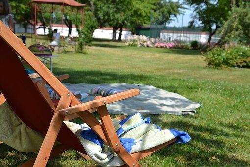 Picnic, Deck Chair, Garden, Relax, Rest, Summer