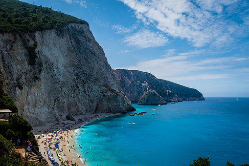 Greece, Islands, Sea, Nature, Port Katsiky, Lefkada