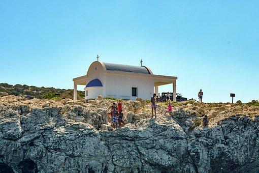 Church, Cliff, Rocky, Rock, Religion, Tourism, Scenery