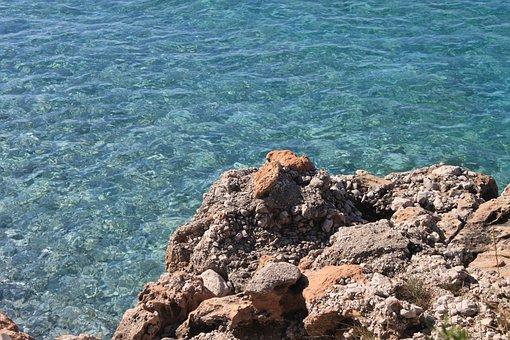 Water, See, Albania, Dhermi, Sea