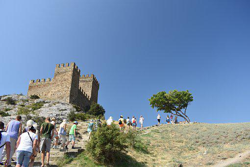 Tourism, Fortress, Genoa, Sudak And Novy Svet