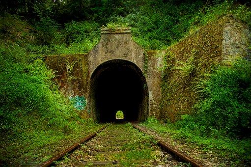 Tunnel, Train, Railway Tunnel, Railway Station, Travel
