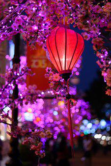 City, Lamp, Light, Streetlight, Street, Urban, Night