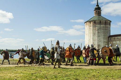 Middle Ages, History, Battle, Armor, Swords, Shields