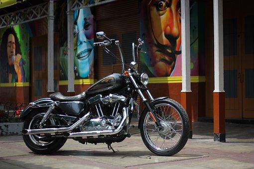 Harley, Harleydavidson, Motor, Motorcycle, Bike, Hd, Mc