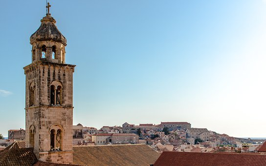 Croatia, Old, Town, Dubrovnik, Stone, Destination, City