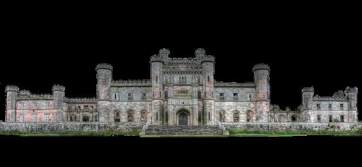 Castle, Ruin, Fairy Castle, Isolated, Transparent