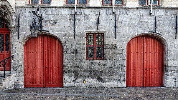 Goal, Door, Input, Fittings, Old Door, Wooden Door