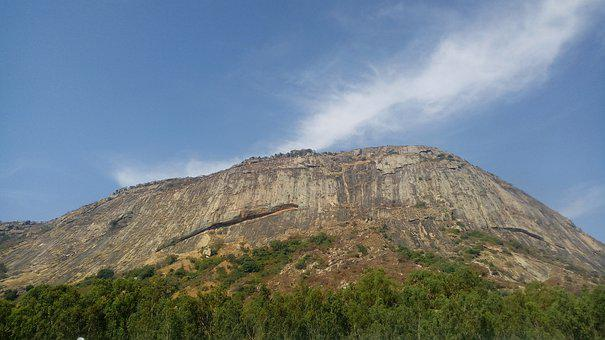 Nandihills, Hills, Nature, Landscape, Sky, Mountains