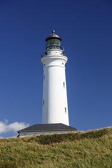 Denmark, Hirtshals, Sky, Lighthouse