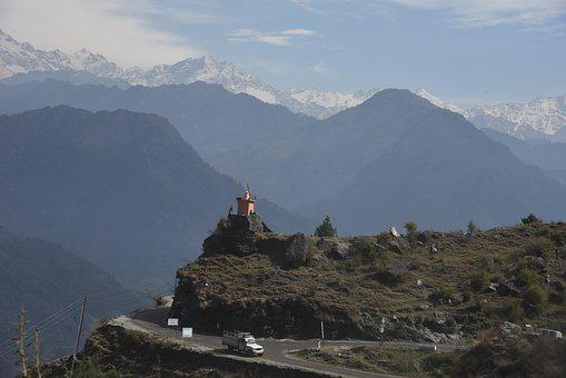 India, Sanctuary, Himalayas, Mountains, Outdoor