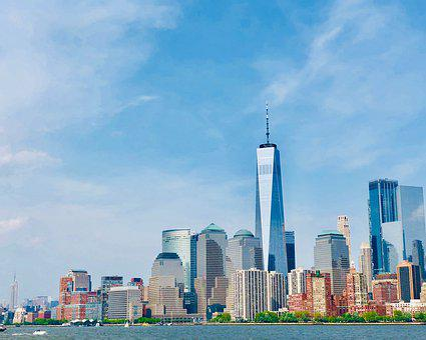 New York, World Trade Center, Manhattan, Skyline