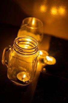Candle, Dark, Gothic, Light, Mystery, Candles