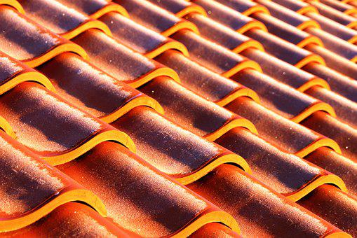 Pantiles, Roof, Culross, Scotland, Red, Pantile