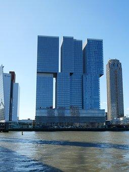 Rotterdam, Port, Netherlands, Water, Architecture