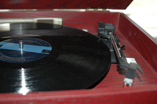 Record Player, Record, Vintage, Music, Vinyl, Turntable