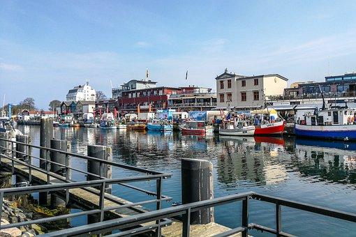 Port, Boats, Warnemünde, Warning, Rostock, Flair, Cozy