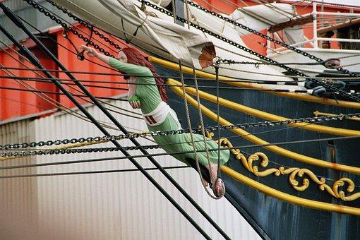 Figurehead, Sailing Vessel, Maritime, Shipping