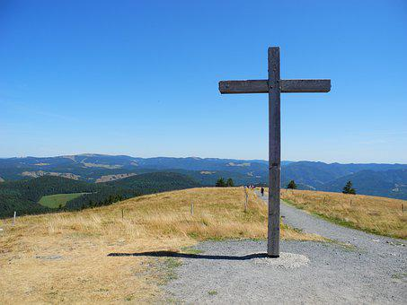Mountain, Black Forest, Landscape, Sky, Hill, Hike